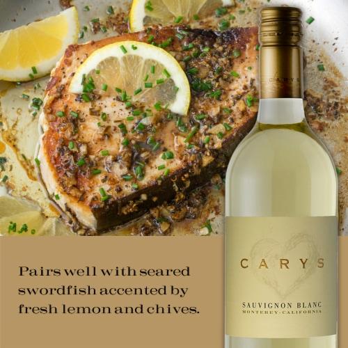 Cary's Sauvignon Blanc Perspective: top