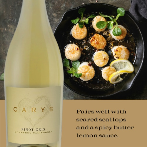 Cary's Pinot Gris Perspective: top