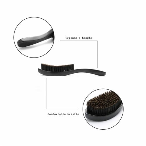 Peculiar Roots Soft Loc Boar Bristle Brush Lint-free Perspective: top