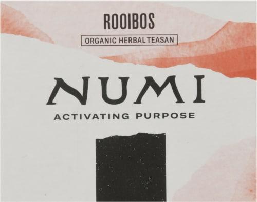 Numi® Organic Rooibos Tea Bags Perspective: top