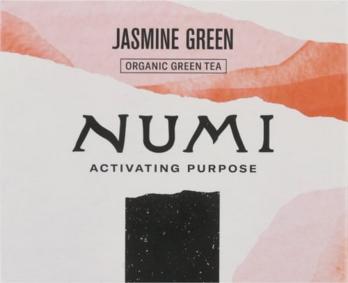 Numi® Organic Jasmine Green Tea Bags Perspective: top