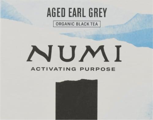 Numi® Aged Earl Grey Organic Tea Bags Perspective: top