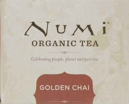 Numi Organic Golden Chai Tea Perspective: top