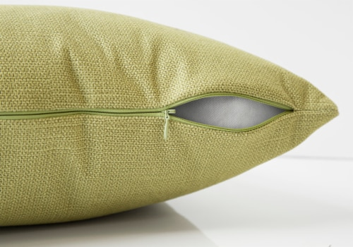 Pillow - 18 X 18  / Patterned Lime Green / 1Pc Perspective: top