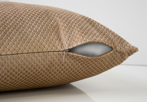 Pillow - 18 X 18  / Beige Diamond Velvet / 2Pcs Perspective: top