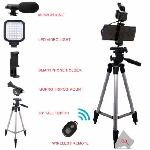 Vivitar Vlogging Kit For Home & Office Smartphones Cameras & Gopro Action Cam Perspective: top