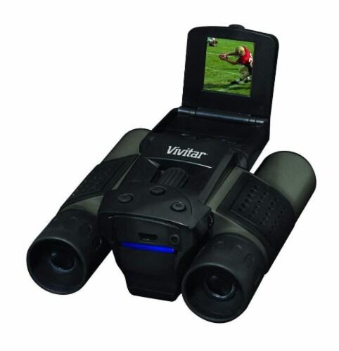 Vivitar Viv-cv-1225v 8mp 2-in-1 Binoculars And Digital Camera Black Perspective: top