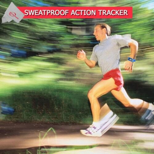 Vivitar Activity Tracker Fitness Watch Sweatproof Design Ios Android Compatible Perspective: top