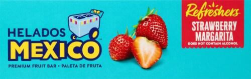 Helados Mexico Refreshers Strawberry Margarita Paletas Fruit Bars Perspective: top