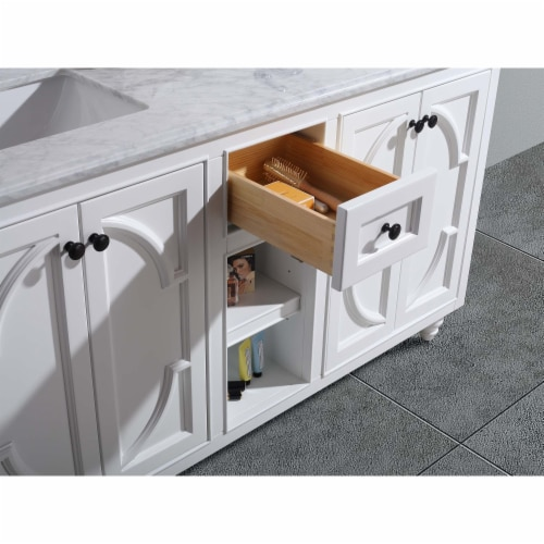 Odyssey - 60 - White Cabinet Perspective: top