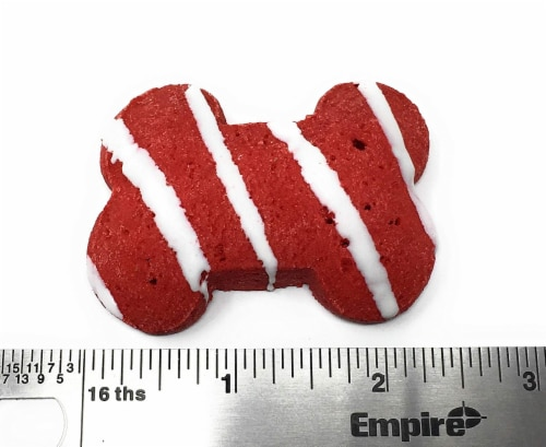 Claudia's Canine Bakery Gourmet Christmas Dog Treat Gift Box (Max's Holiday Munch) Perspective: top