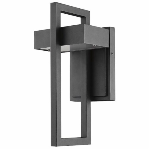 Luttrel 1 Light Outdoor Wall Sconce Perspective: top