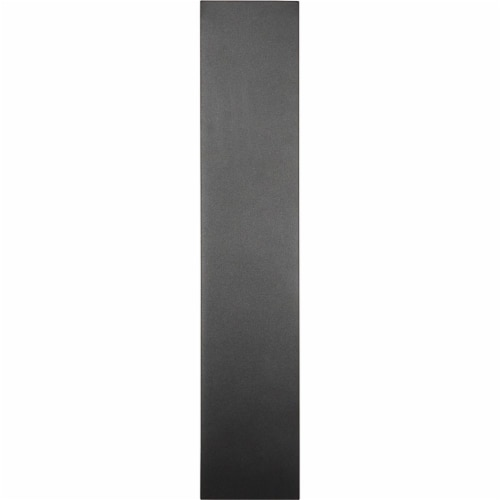 Z-Lite Landrum 24  Sand Blast Glass Aluminum Outdoor LED Wall Sconce in Black Perspective: top