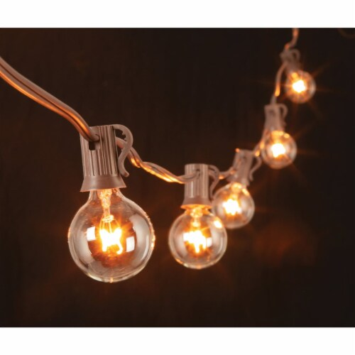 Gerson 20 Ft. 20-Light Clear Bulb String Lights 2201300 Perspective: top