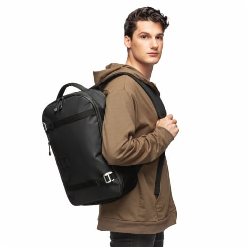 Marin Collection Backpack Black Perspective: top