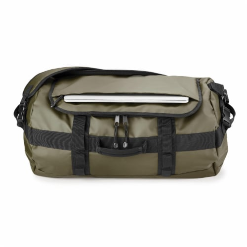 Marin Collection Water Resistant Duffle Green Perspective: top