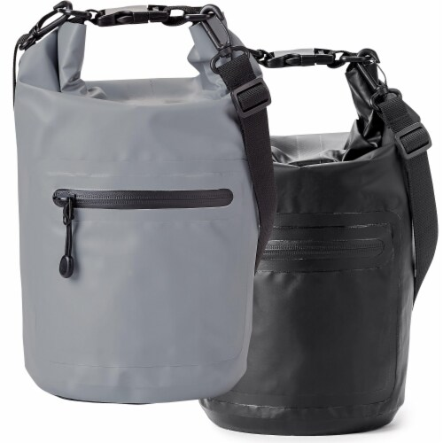 Marin Collection Water Resistant Drybag Black Perspective: top