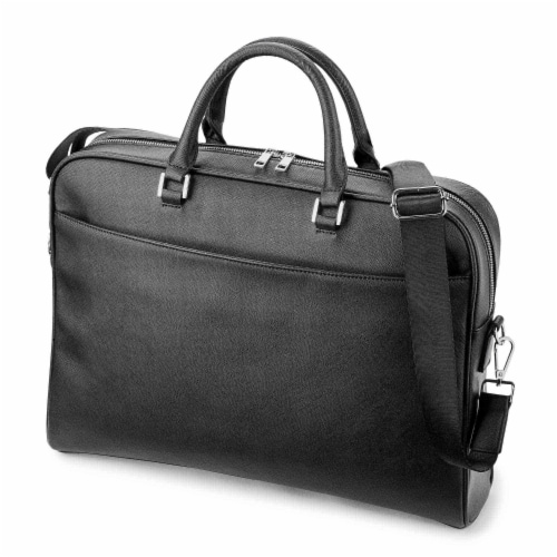 Marin Collection Brief Case Black Perspective: top