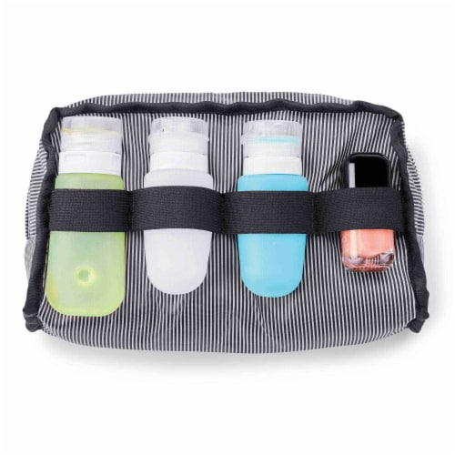 Marin Collection Accessory Case Grey Perspective: top