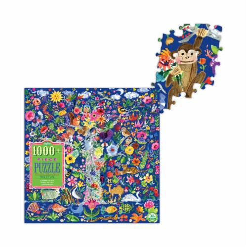 eeBoo Tree of Life Puzzle Perspective: top