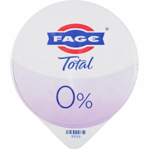 Fage Total 0% Plain Greek Yogurt Perspective: top