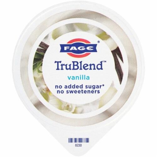 Fage TruBlend Lowfat Vanilla Greek Yogurt Perspective: top