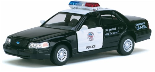 MTI Diecast Pullback Car - Assorted Perspective: top
