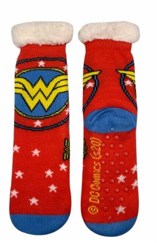 MTI Wonder Woman Sherpa Socks - Assorted Perspective: top