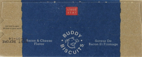 Buddy Biscuits Itty Bitty Bacon & Cheese Treats Perspective: top