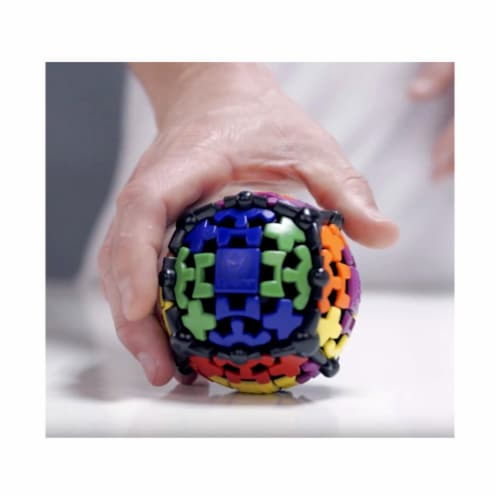 Recent Toys Gear Ball Brain Teaser Toy Perspective: top