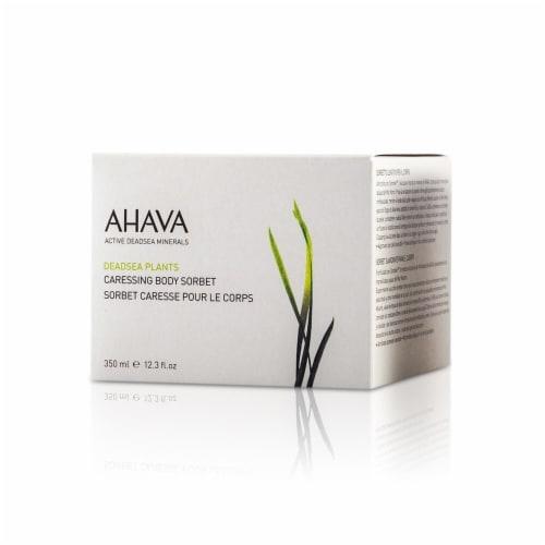 Ahava Deadsea Plants Caressing Body Sorbet 350ml/12.3oz Perspective: top