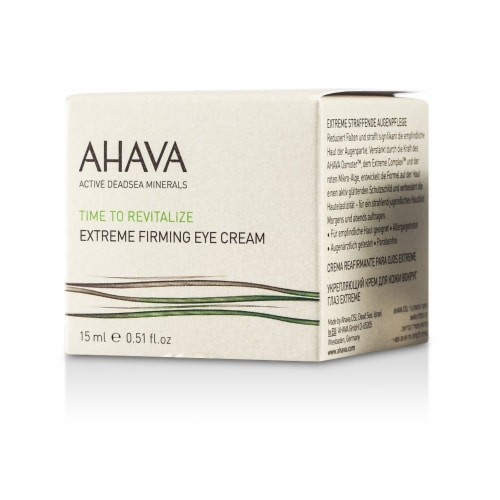 Ahava Time To Revitalize Extreme Firming Eye Cream 15ml/0.51oz Perspective: top