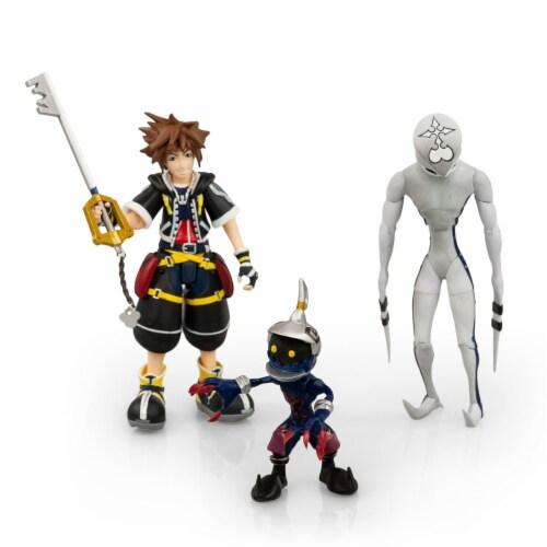 Kingdom Hearts 2 Action Figures Collection Set | Includes Sora, Dusk, & Soldier Perspective: top