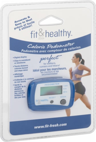 MEDport Fit and Healthy Calorie Pedometer Perspective: top