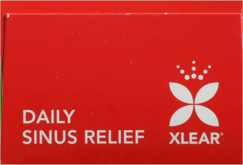 Xlear Natural Saline Daily Relief Nasal Spray Perspective: top