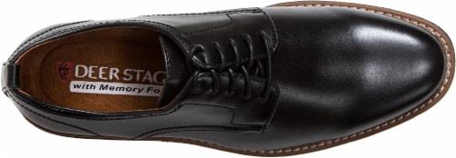 Deer Stags Highland Men's Plain Toe Oxfords - Black Perspective: top