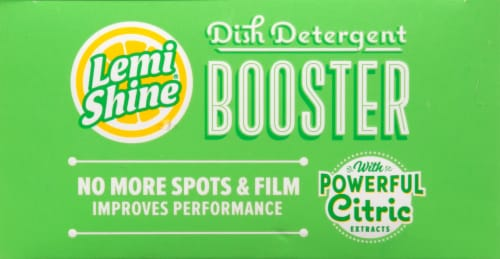 Lemi Shine® Detergent Booster Tablets Perspective: top