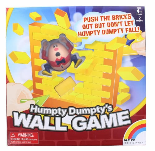 Humpty Dumptys Wall Game | For 2 Players Ages 4 and Up Perspective: top