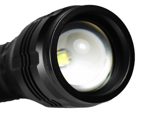 Police Security Zephyr Flashlight Perspective: top