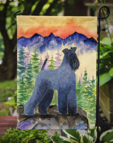 Carolines Treasures  SS8223GF Kerry Blue Terrier Flag Garden Size Perspective: top