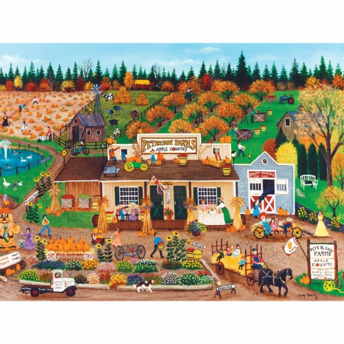 MasterPieces Homegrown Peterson Farms Puzzle Perspective: top