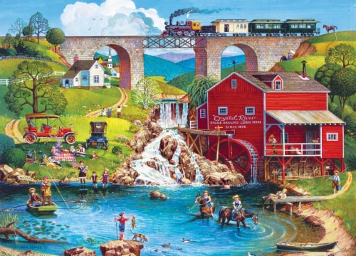 Labor Day 1909 500 Piece Jigsaw Puzzle Perspective: top