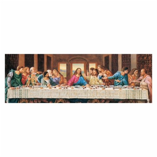 MasterPieces Puzzles Panorama Puzzle The Last Supper Perspective: top