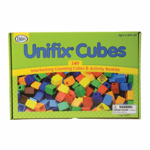 Didax UNIFIX® Cubes for Pattern Building Perspective: top
