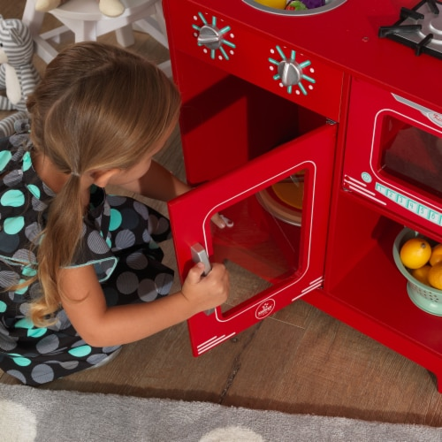 KidKraft Classic Kitchenette - Red Perspective: top