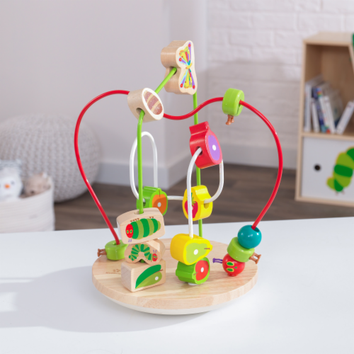 KidKraft World of Eric Carle™ Wobble & Wiggle Bead Maze Perspective: top