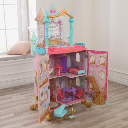 KidKraft KidKraft Disney Princess Dance & Dream Dollhouse Perspective: top