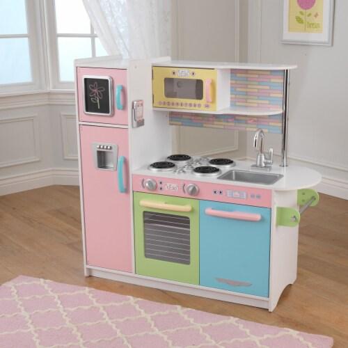 KidKraft Uptown Pastel Play Kitchen Perspective: top