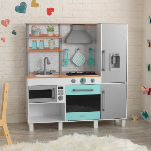 KidKraft Gourmet Chef Play Kitchen with EZ Kraft Assembly™ Perspective: top