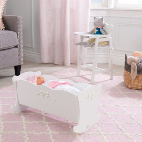 KidKraft Tiffany Bow Lil Doll Cradle Perspective: top